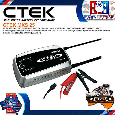 CTEK MXS25 12V 25A Battery Charger Maintainer