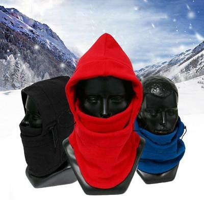 Winter Fleece Ha Warm Snood Scarf Neck Face Mask Hat Ski Balaclava Hood Cap