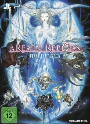 B-WARE: Final Fantasy XIV A Realm Reborn Collector's Edition Videospiel PS4 Game