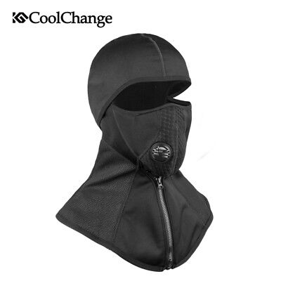 Winter Cycling Full Face Mask Head Wear Sports Bike Mask Neck Warmer Windproof