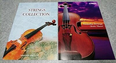 YAMAHA STRINGS COLLECTION 2016 2018 Catalog Violin Viola Cello New F/S From JPN