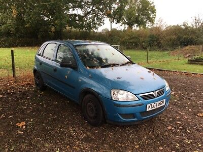 Vauxhall Corsa Life 1.2 2004 spares or repairs