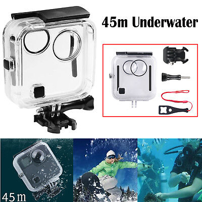 For GoPro Fusion 45m Underwater Diving Case Waterproof Housing Shell Cover NEW