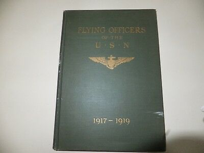 """Wwi """"flying Officers Of The U.s. Navy (1917-1919)"""""""