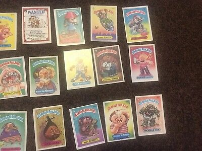 Garbage Pail Kids •• 31 Cards