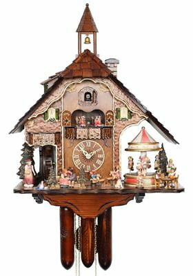 HerrZeit Cuckoo Clock -  The Fun Fair AH UK 60 8TMT NEW