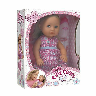 NEW CLASSIC TINY TEARS BABY DOLL - Drinking Crying & Wetting by John Adams