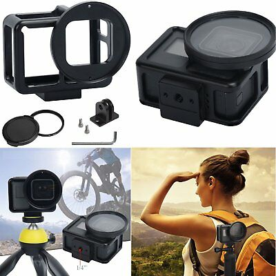 For Gopro Hero 7 Protective Housing Frame Cage Cover Mount Adapter Accessories