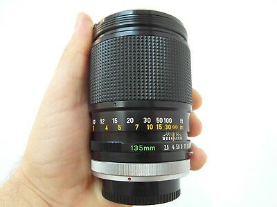 Canon Lens Fd 135 Mm 1:2.5 S.c.very Good Condition.