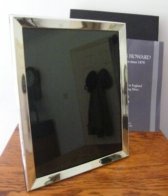 """BOXED HALLMARKED LONDON 2013 SOLID SILVER PHOTO PICTURE FRAME 10.75"""" x 8.5"""""""