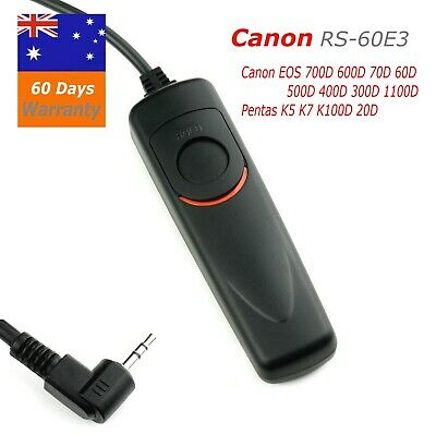 Wired Remote Shutter Release RS-60E3 for Canon 1100d 700d 650d 550d 760D