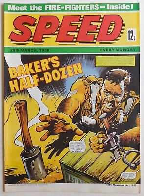 SPEED COMIC - 29 March 1980