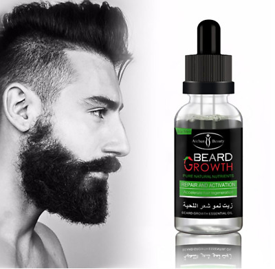 Best Natural Oil for Men Beard Growth Growing Care anti lost Beards Lover Gift