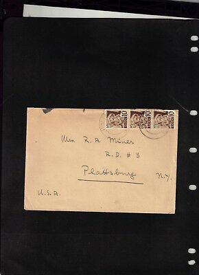 1948 Baden Cover sent to U.S.