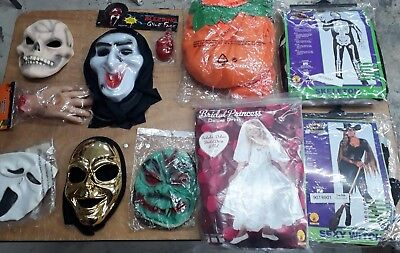 Halloween Fun Box 1 - 10 Items including Costumes & Masks