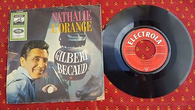 Gilbert Becaud Natalie L'orange Single