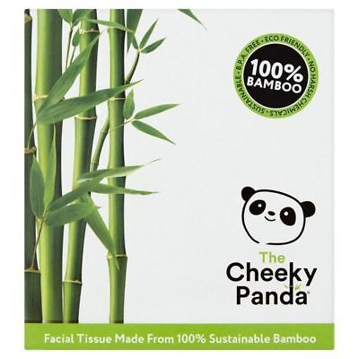 6x Cheeky Panda Natural Bamboo Facial Tissue Cube 56 per pack