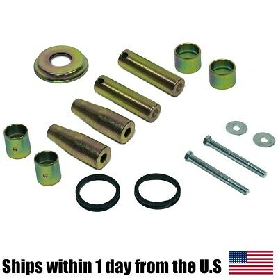 Bobcat Bobtach Pin Bushing Kit 773 Skid Steer Lower Upper Pivot Cup Seal Rubber