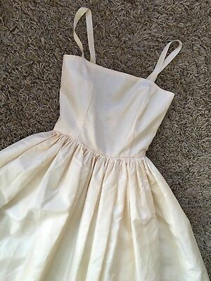 Vintage 195060s Weddingprom Ball Gown Size Uk 6 Eur 4438