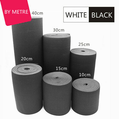 Elastic Bands Sewing Stretch Band Flat Cord Rubber Belt Waistband Widen Thicken