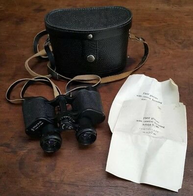 Vintage Binoculars 8x30 Made In USSR With Carry Case in Excellent Condition