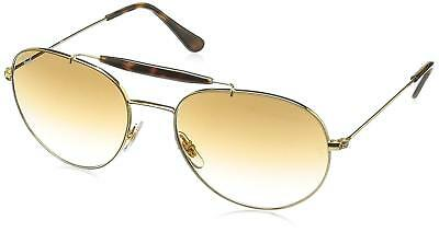 4e02aac120cfd Ray-Ban RB3540 001 51 Gold Frame Light Brown Gradient 56mm Lens Sunglasses