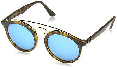 a311780d0a5 Ray-Ban RB4256 609255 Gatsby I Tortoise Frame Blue Mirror 49mm Lens  Sunglasses
