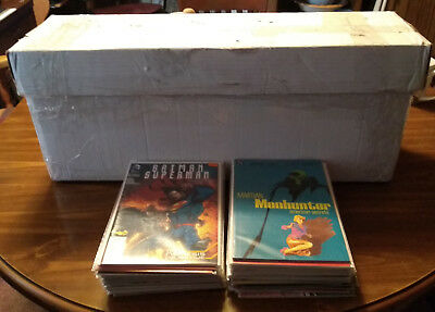 Huge Lot of 50 Comics Marvel, DC, Indie pulled from a Long Box Different Eras