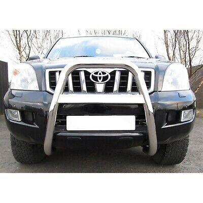 Toyota Landcruiser Lc120 2003-2009 Mach High Front Bull/A-Bar With Name - 63Mm
