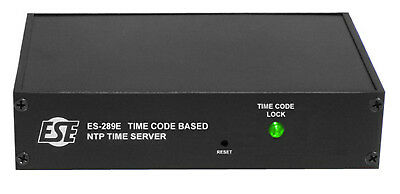 ESE ES-289E Time Code NTP Server, ESE or SMPTE