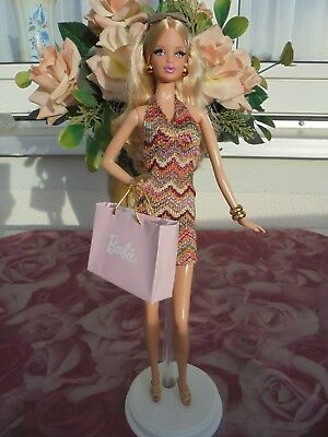 Original The Barbie Look City Shopper Mattel Barbie Collector