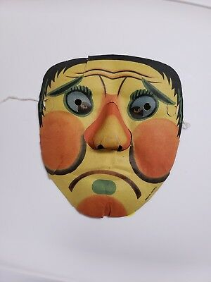 Vintage Halloween Scary Mask made in japan