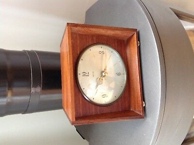 Period Smiths vintage mantle clock with German Quartz movement