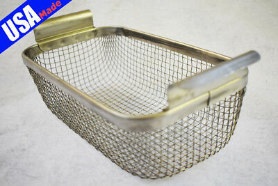 REDUCED CP14-EW Ultrasonic Wire Mesh Cleaning Baskets 9 x 5 x 3.125