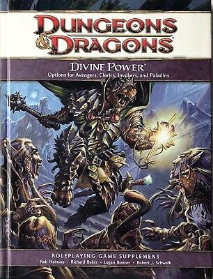 Dungeons & Dragons 4th Edition - Divine Power