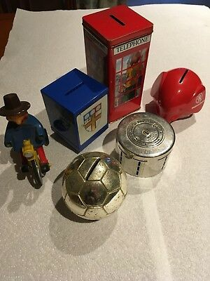 Joblot Collectables Money Boxes & Windy Miller Toy