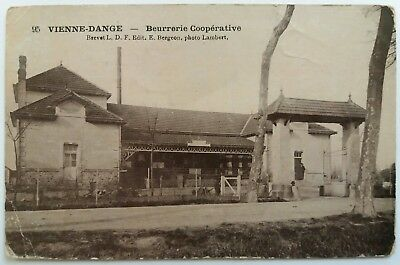 Photo Cpa Laiterie Dange Saint Romain Chatellerault Arambourou Vienne 86