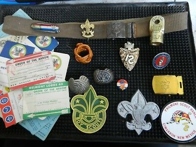 Boy Scouts of America Nice Vintage Collection for One Bid