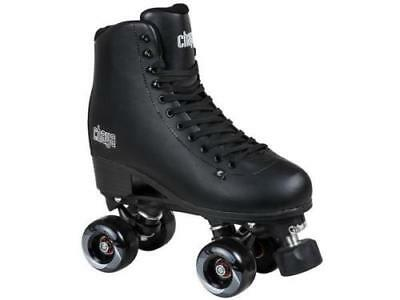 New! Chaya Melrose Supreme Classic Black Quad Indoor / Outdoor Roller Skates