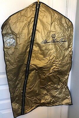 Vintage Palmer House Towers Chicago Gold Colored Garmet Bag