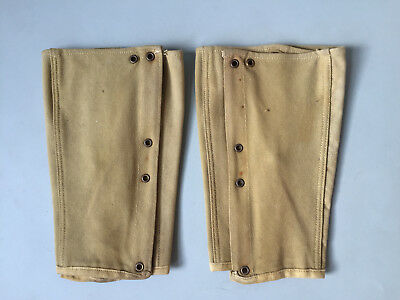 Wwi Us M1910 Reproduction Infantry Leggings Aged