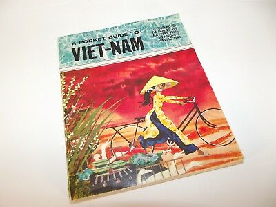 US Department of Defense Book  A Pocket Guide to Vietnam   DOD # PG-21  1962