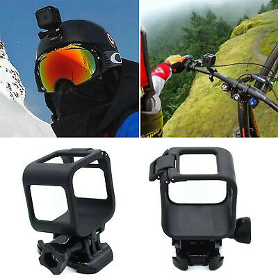 Low Profile Housing Frame Cover Case Mount Holder for GoPro Hero 4 5 Session GT