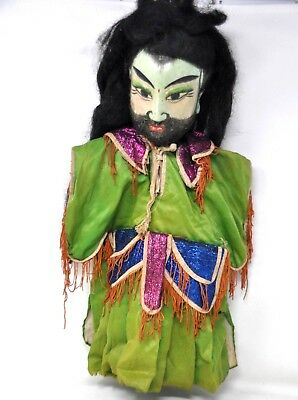 Antique Chinese Opera Puppets Handmade Wood Carved