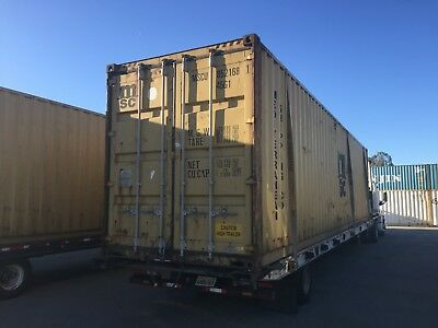 40' High Cube shipping/storage containers wind and water tight (Los Angeles)