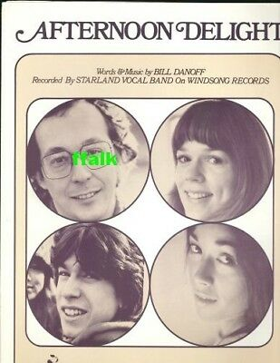 Afternoon Delight The Best Of The Star Land Vocal Band 599
