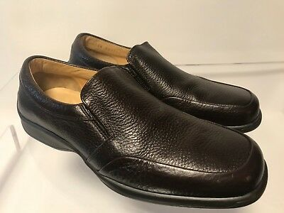 Bruno Magli Mens Ashton Brown Driving Slip On Dress Casual Loafers SZ 8M Italy
