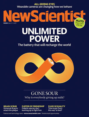 NEW SCIENTIST MAGAZINE 25th JULY 2015 SPECIAL OFFER BUY ANY 6 ISSUES FOR £10.00