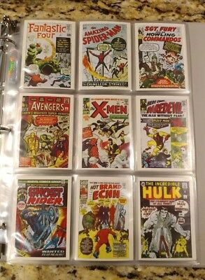 1984 Marvel Super Heroes First Issue Covers Complete Set Spider-man Hulk NM/MT
