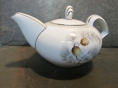 Kent Silver Pine Teapot With Lid Japan China